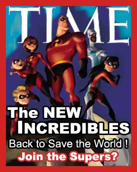 The NEW INCREDIBLES