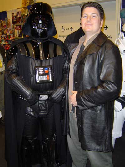 My good buddy Darth Vader
