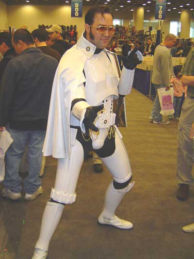 Elvis Stormtrooper at Wondercon