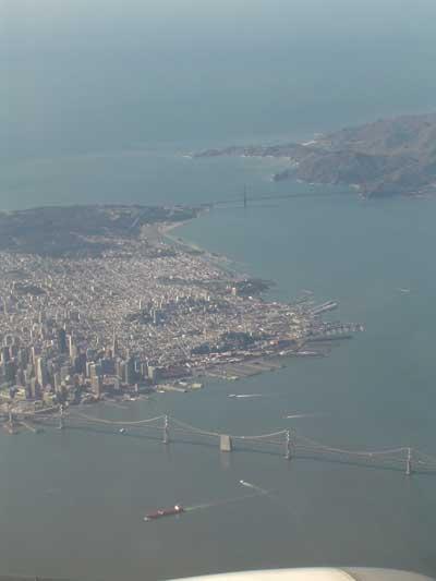 San Fransisco Aerial Photo