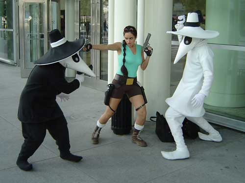 Spy Versus Laura Croft