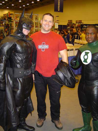 Batman and Green Lantern